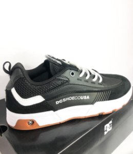 Tênis DC Shoes Legacy 98 Slim Black and White (BKM) Importado Original
