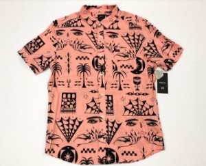 Camisa Rvca De Botão Void Em Viscose Importada Original
