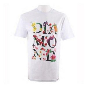 Camisa Diamond Botanical White