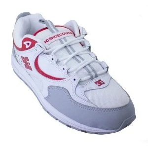 Tênis DC Shoes Kalis Lite White Red And Grey