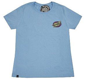 Camiseta Santa Cruz Feminina Psychodelic Dot