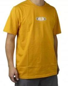Camiseta Santa Cruz Juvenil Religion Mostarda Tam. 12