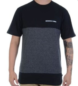 Camiseta DC Shoes Block Preta
