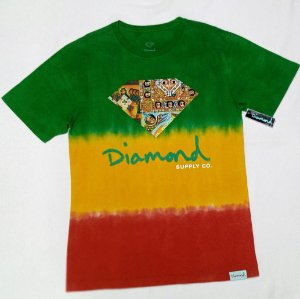 Camiseta Diamond Ethiopian Tie Dye Original
