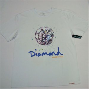 Camiseta Diamond Splash Sing Branca Masculina