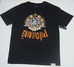 Camiseta Diamond Glass Tee Preta Original  Nova Coleção