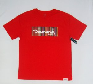 Camiseta Diamond Color Ply Box Logo Original