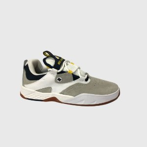 TÊNIS DC SHOES KALIS IMP WHITE/GREY/YELLOW