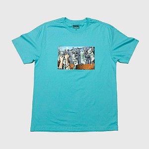 Camiseta DGK Laundry Celadon