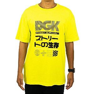 Camiseta DGK Street Survival - Verde