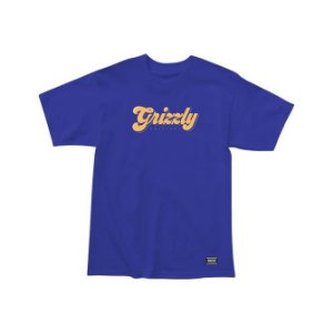 Camisa Grizzly Disco Strip Royal