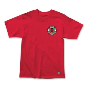 Camiseta Grizzly Most High Vermelho