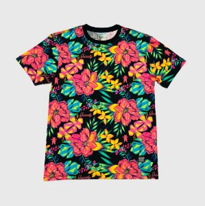 Camiseta Grizzly Maui Pink
