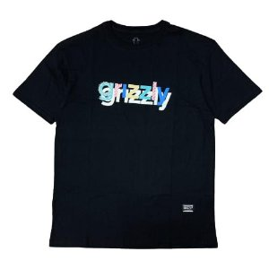 Camiseta Grizzly To The Max Preta