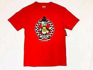 Camisa DGK Can T Stop Tee Vermelho
