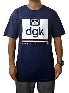 Camisa DGK Hustle Club Azul Marinho Masculina