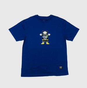 Camiseta Grizzly Chris Cole Robot Royal Masculina