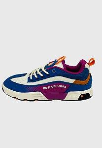 Tênis Dc Shoes Legacy 98 Slim Imp Azul c/ Branco Masculino