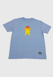 Camiseta Grizzly Og Bear Fadeway Powder Blue
