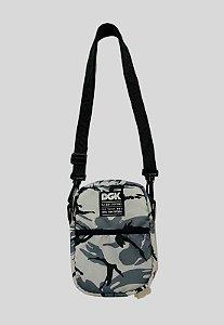 Shoulder Bag DGK Disrupt Cammo Grey