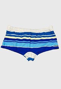 Sunga Sungão Radical Wave Listrada Branco com Azul Original
