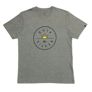 Camiseta Quiksilver Near Dawn Cinza Masculina