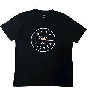 Camiseta Quiksilver Near Dawn Preta Masculina