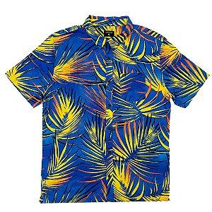 Camisa Quiksilver Sub Tropic Parisian Night Masculina