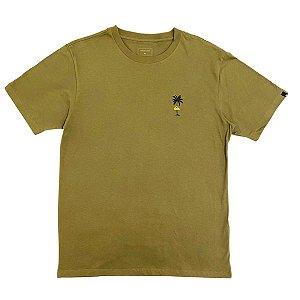 Camiseta Quiksilver Shining Hour Verde Militar Masculina