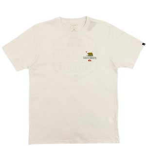 Camiseta Quiksilver Ca Working Class Branca Masculina