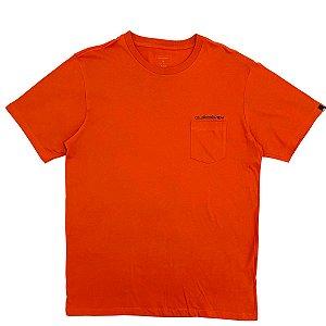 Camiseta Quiksilver Omni Pocket Telha Masculina