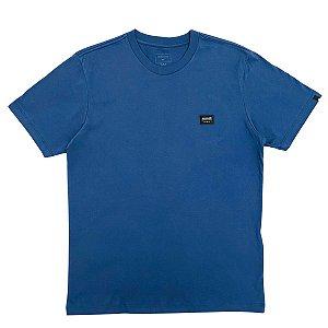 Camiseta Quiksilver Patch Azul Masculina