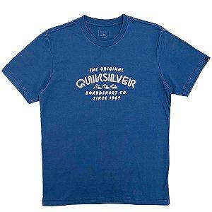 Camiseta Quiksilver Wilder Mile Azul Masculina