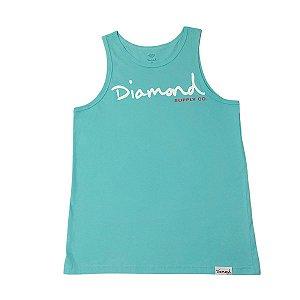 Regata Diamond Og Script Tank Blue Masculina