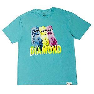 Camiseta Diamond For Everyone Blue Original Masculina