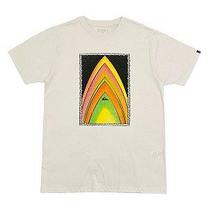 Camiseta Quiksilver Gold To Class Branca  Masculina