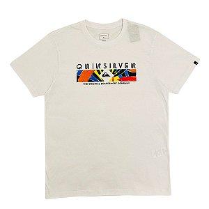 Camiseta Quiksilver Distant Shore Branca Masculina