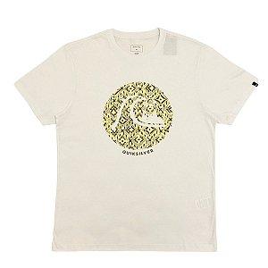 Camiseta Quiksilver Bubble Jam Branca Masculina