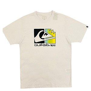 Camiseta Quiksilver Colour Trip Branca Masculina