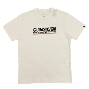 Camiseta Quiksilver Like Gold Branca Masculina