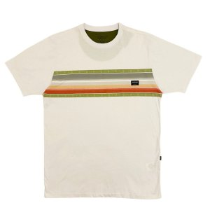 Camiseta Quiksilver Sunfaded Branco Masculina