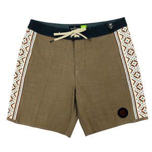 Boardshort Quiksilver Highline Arch 18 Marrom Masculina