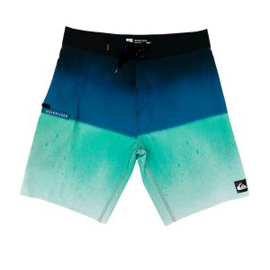 Bermuda Quiksilver Boardshort Slab 20 Verde Masculina