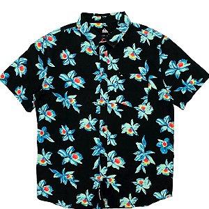 Camisa Quiksilver Mystic Sessions Preta Masculina