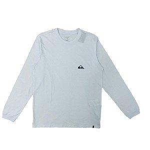 Camisa Quiksilver Manga Longa Essentials Branca Masculina