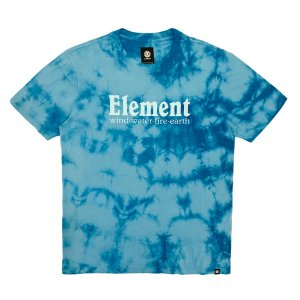 Camiseta Element Clouds Azul Masculina