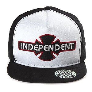 Boné Independent Ogbc Preto/Branco Masculino