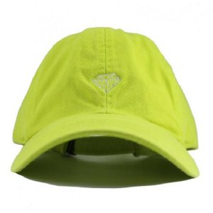 Boné Diamond Micro Brilliant Dad Hat Safety Green Masculino