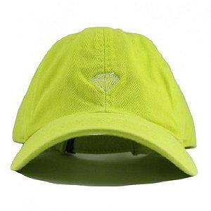 Boné Diamond Micro Brilliant Dad Hat Safety Green Masculino