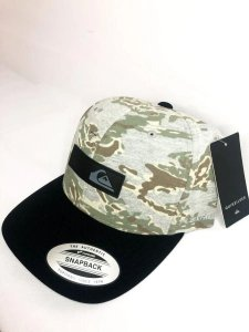 Boné Quiksilver Snap Camo Heather Black Masculino